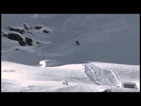 Logan Imlach - Backcountry Slopestyle run 1 - Swatch Skiers Cup 2013