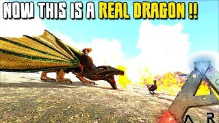 NOW THIS IS A REAL DRAGON !! | MYTHICAL BEASTS | ARK SURVIVAL EVOLVED [EP13]