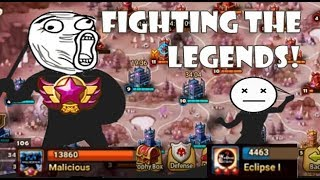 Siege! Fighting The Legend Rank Guild!
