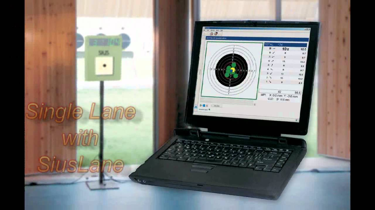 Hybridscore New Low Cost Electronic Target System Youtube