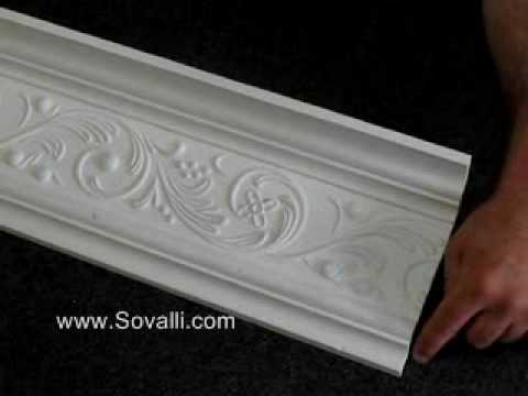 HPCV004 Sovalli Decorative Plaster Coving