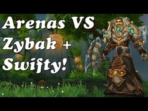 Cyber - MoP Arenas 3v3's VS Swifty + Zybak! (WoW Ret PvP)