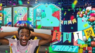 THE BEST FUT BIRTHDAY PACK OPENING EVER! 125K PACKS!!!