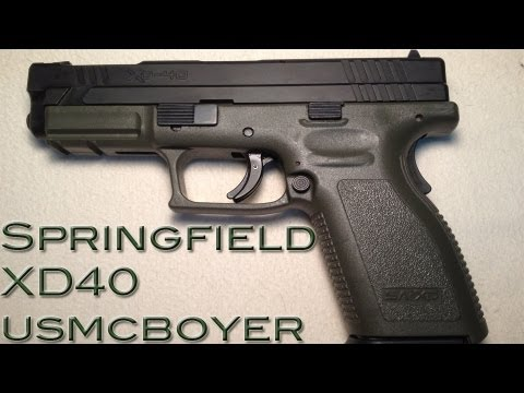 Springfield XD40 Review -