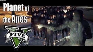 Planet of the Apes - Vengeance a GTA V Movie