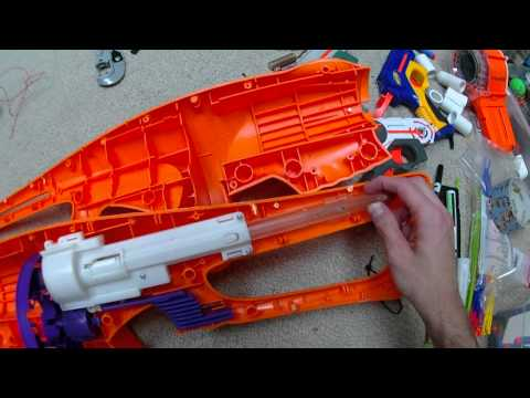 Cracking Open the Supposedly Impossible to Open Blaster (Inside the Koosh Firestorm)
