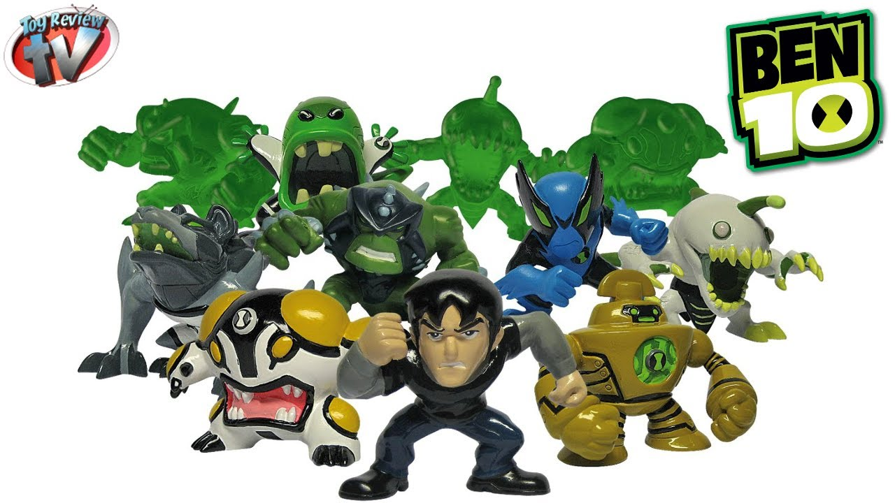 Mini Ben Ben 10 Mini Figures Series 3