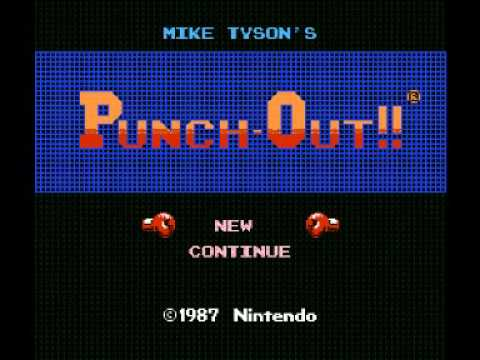 Mike Tyson Punch Out (NES) Music - Fight Theme Image 1