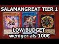 Yu-Gi-Oh! SALAMANGEAT LOW BUDGET (unter 100 Euro) | Decklist + COMBO