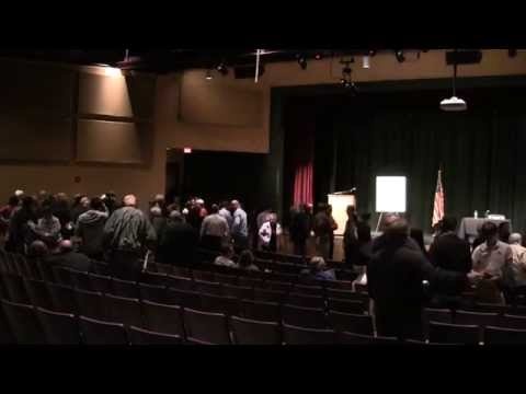 LePage/ Twomey Exchange at Saco Town Hall