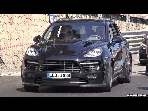 Porsche Cayenne Gemballa BiTurbo 720 Aero 3 - LOUD Sounds in Monaco!