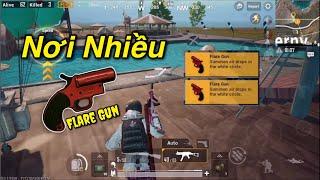 PUBG Mobile | Công Viên Nước Nơi Luôn Có Flare Gun và Cực Giàu Bạn Nên Biết √