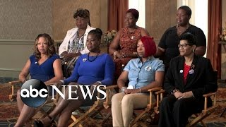Mothers Who Lost Children to Gun Violence, Police Actions Speak at DNC
