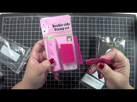2013 WINSTONIA NAIL ART STAMPING PLATES & SHANY COSMOPOLITAN NAIL POLISH SET (PART 1 of 2)