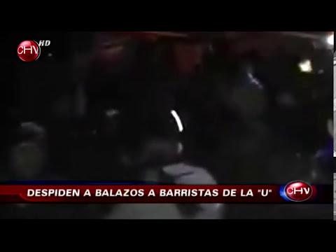 Balazos y fuegos artificiales acompañaron velatorio de barristas de la U - CHV Noticias