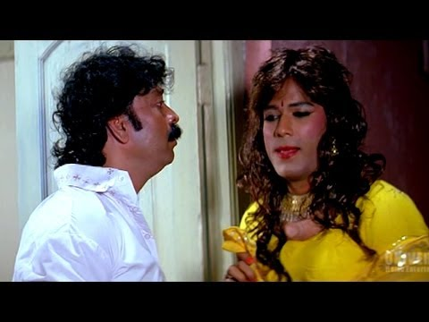 Zabardast Hyderabadi Movie  || Aziz Naser In Lady Getup Hilarious...