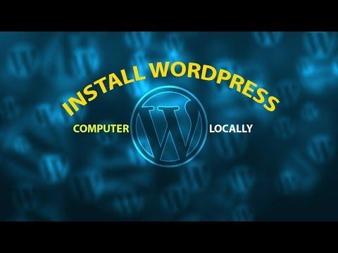how to install wordpress on WAMP server -
