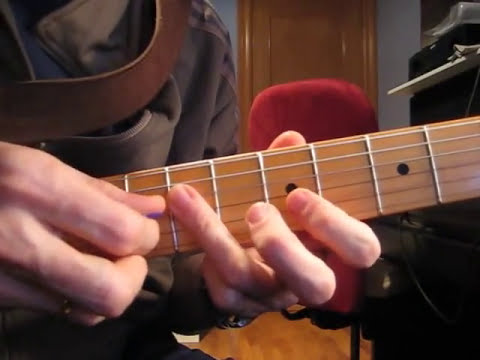 Guitarra Eléctrica - Escala pentatónica (P-6) - Escala blues -Rock & Roll para Muñones