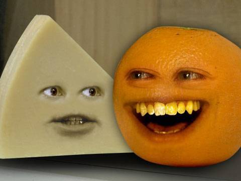 Annoying Orange: A cheesy episode