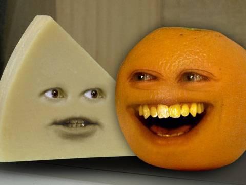 Annoying Orange - A Cheesy Episode