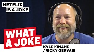 Ricky Gervais Thinks Twitter is a Toilet & Kyle Kinane on Kanye | What A Joke | Netflix Is A Joke