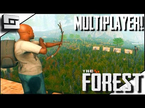 The Forest Multiplayer - ARCHERY! E25 ( Gameplay )