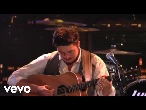 Mumford & Sons - The Cave (Live @ Letterman)
