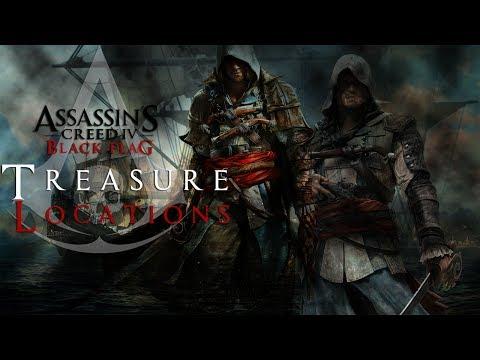 Assassin's Creed 4 Black Flag Tresure Map 327. 334
