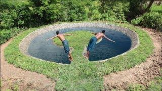 Build Swimming Pool Around Grass