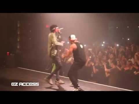 HAW: Drake brings out Wiz Khalifa & smokes for the first time!!