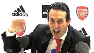 Arsenal 2-2 Crystal Palace - Unai Emery Full Post Match Press Conference - Premier League