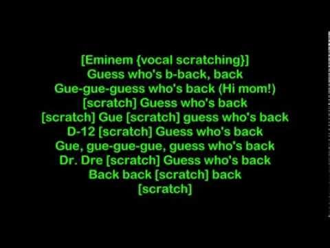 Eminem - Im Back [HQ Lyrics]