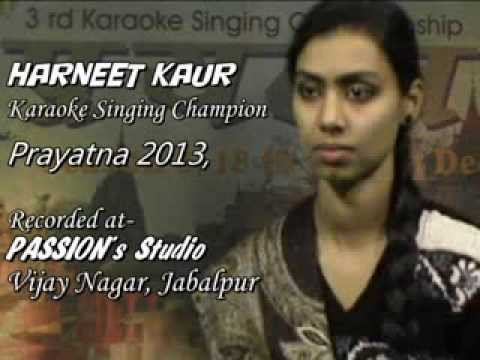 Hamne Sanam Ko Khat Likha   Harneet Kaur   Recorded at PASSIONs...