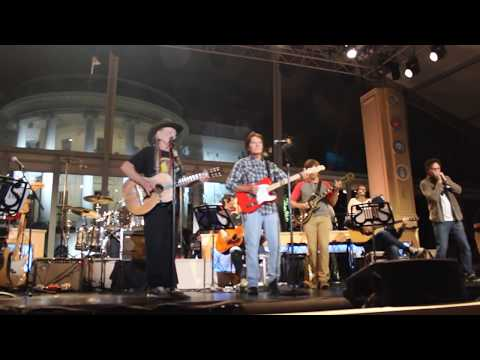 John Fogerty Willie Nelson On the Road Again at The White House