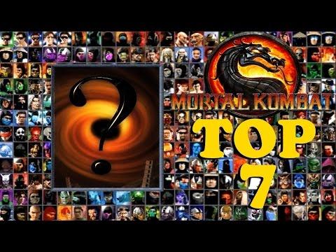 TOP 7 - PERSONAJES SECRETOS DE MORTAL KOMBAT