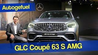Mercedes AMG GLC 63S Coupé REVIEW Exterior Interior Facelift 2020