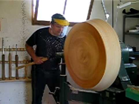 Working with a VB-36 wood lathe