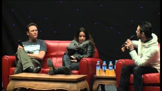 Holly Marie Combs and Brian Krause Panel Part 1.