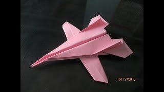 gấp máy bay chiến đấu f22 ,đồ chơi bằng giấy