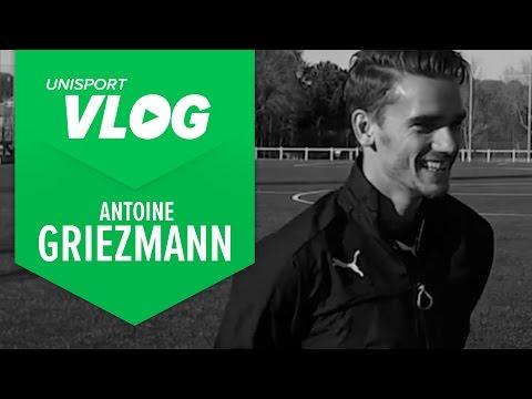 Unisport VLOG |  Luca talks with Antoine Griezmann about the evoSPEED SL