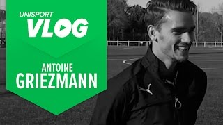 Unisport VLOG | Luca talks with Antoine Griezmann about the evoSPEED SL