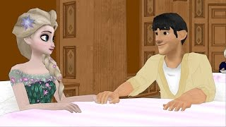 Tadashi Loves Elsa? Elsa & Anna of Arendelle Episode 33 - Frozen Princess Parody
