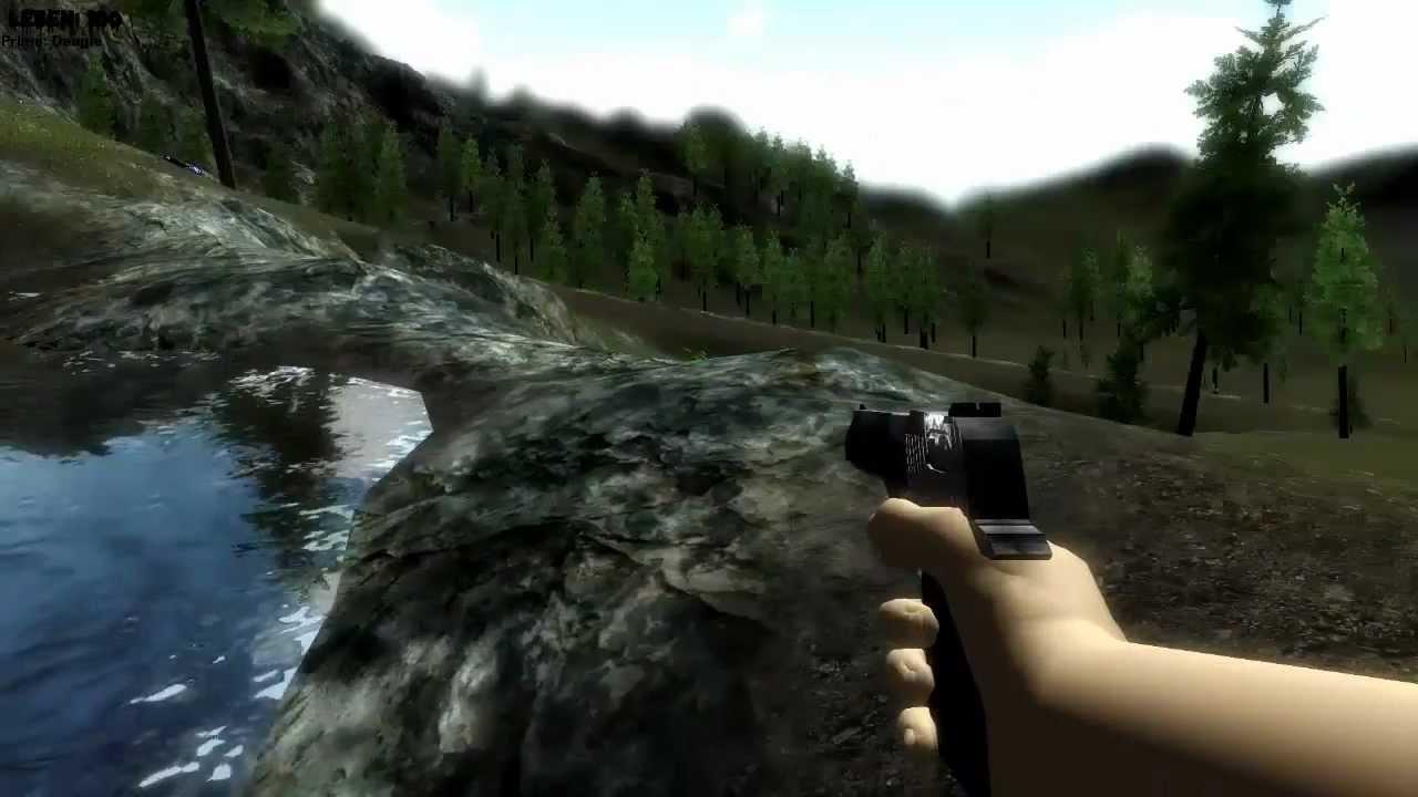 Unity 3D - Zombie apocalypse game - DayC - YouTube