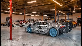 Sketchy Donuts w Supercharged Lamborghini x How DDE got Started