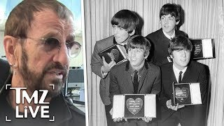 Ringo Starr Talks Beatles Masterbating! | TMZ Live