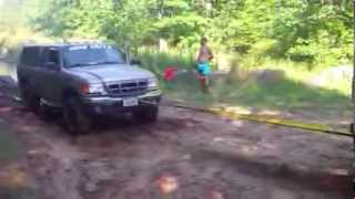 Hills and Mud 4x4 Jeep and Ford Ranger, Crivitz Pipeline