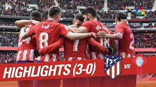 Resumen de Atlético de Madrid vs RC Celta (3-0)