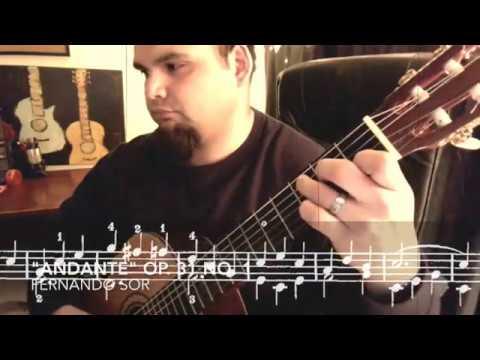 Fernando Sor - Opus 31 No1 Andante