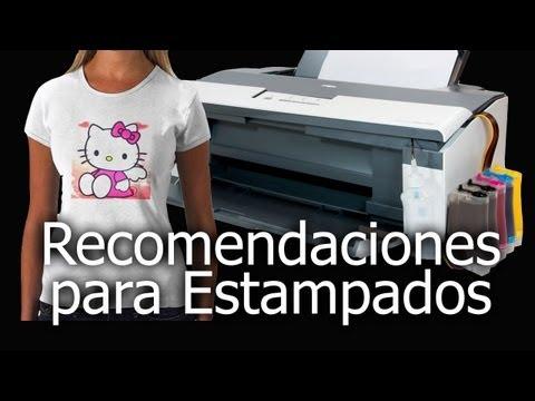 Papeles y Tintas para Estampados con Sistemas Continuos de Tintas Econoprint