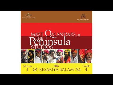 Kesariya Balam by the Mast Qalandars  The Peninsula Studios